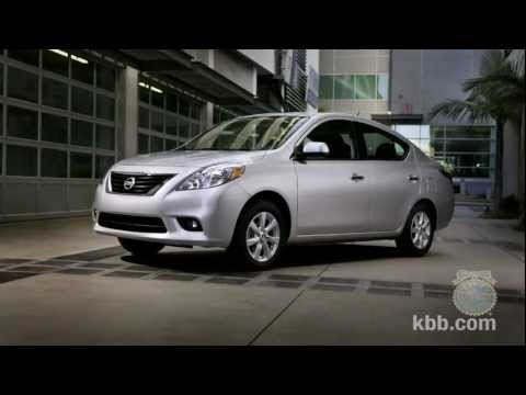 2012 Nissan Versa Sedan Review - Kelley Blue Book