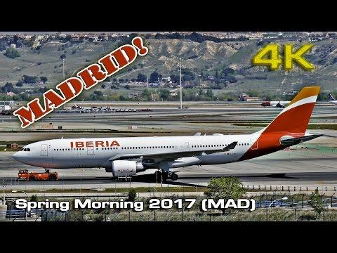 Spring Morning at Madrid Barajas Airport (2017)[4K]