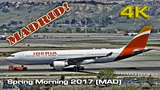 Spring Morning at Madrid Barajas Airport (2017)[4K]