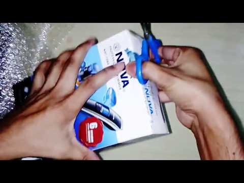 NOVA PRIME Professional Trimmer (NHT-1085) for Men Unboxing and Giveaway with 18 Month Warranty