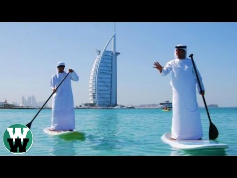 Dubai is rich see what happens with the money You are here tells the surprised look