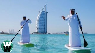 10 Outrageous Things You'll Only See In Dubai(From million dollar police super cars and gold dispensing ATM's, to free food and exotic pets! We take look at 10 Outrageous Things You Will Only See In Dubai!, 2016-03-22T20:30:00.000Z)