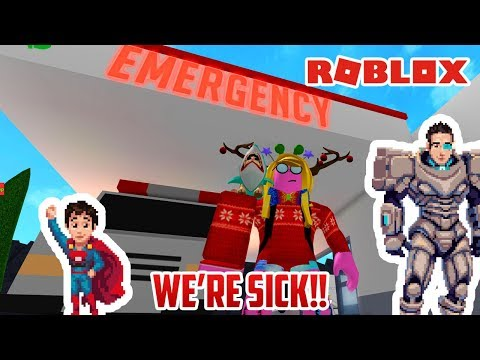 Izzys Game Time Roblox Meep City We Re Super Sick So Let S Play Roblox Hospital Tycoon Youtube