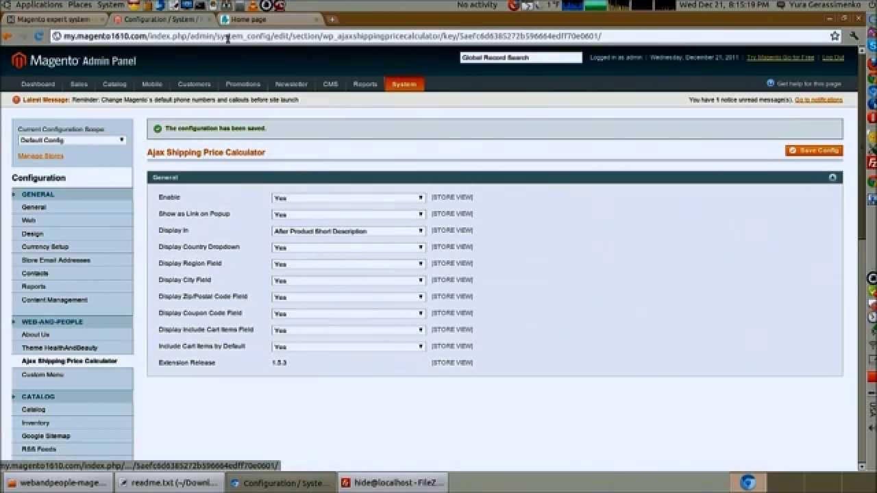 Magento 2 price calculator, customer measurement based pricing.