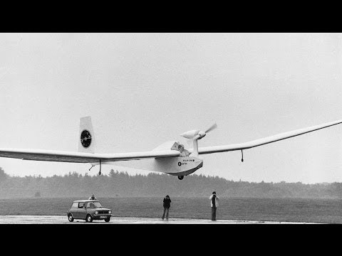 """Solar One"", the world's first solar powered aircraft Part 1."