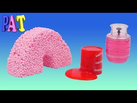 Как сделать шариковый пластилин в домашних условиях