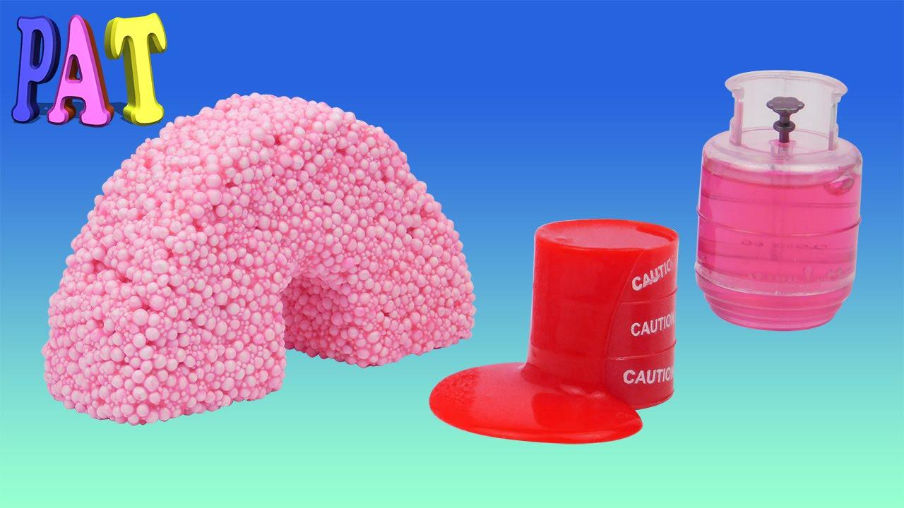 Как сделать шариковый пластилин в домашних условиях от #Playattoys .
