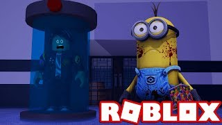 the MINION is again very crazy in FLEE THE FACILITY in ROBLOX 😱