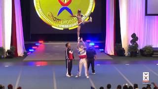 Team Chinese Taipei Partner Stunt - Cheer Worlds 2014