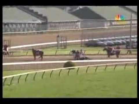 Eight Belles FALLING DOWN in Kentucky Derby 134