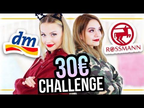 DM vs. ROSSMANN – 30€ XMAS Makeup Challenge mit xLaeta! ❤ #24DaysOfChristmas