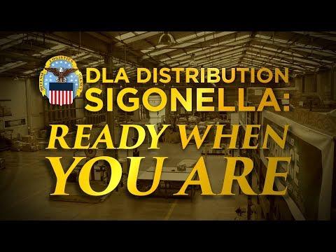 DLA Distribution Sigonella: Ready When You Are (Open Caption)