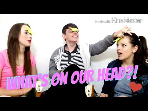 CHALLENGE: What's on our head? With Dylan Edwards