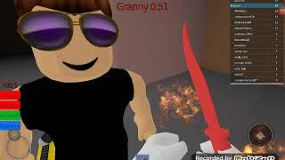 GRANNY ALMOST KILLED ME!!! -ROBLOX