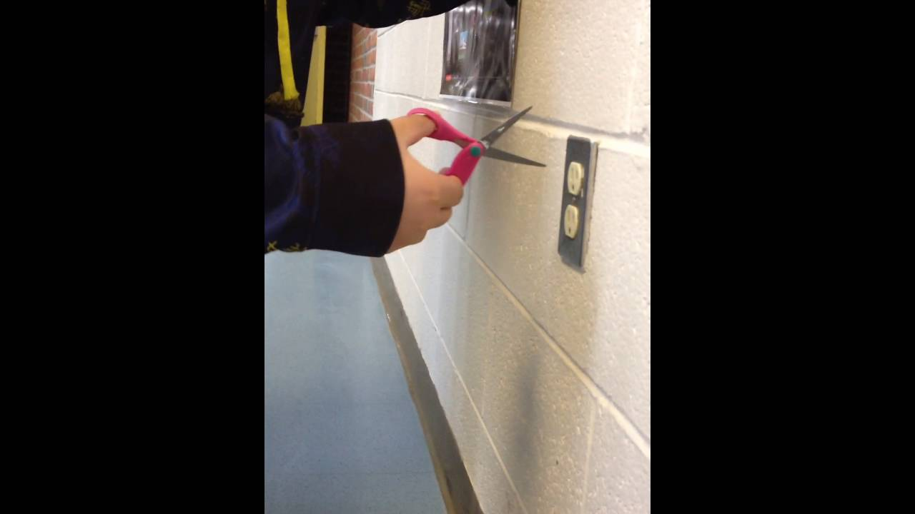 Sticking Scissors In An Outlet Youtube