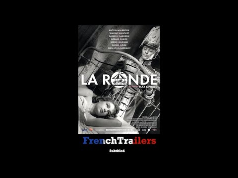 La ronde (1950) - Trailer with French subtitles