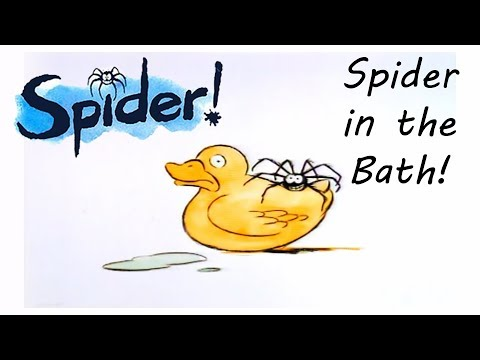 Spider! Episode 1 | Spider In The Bath