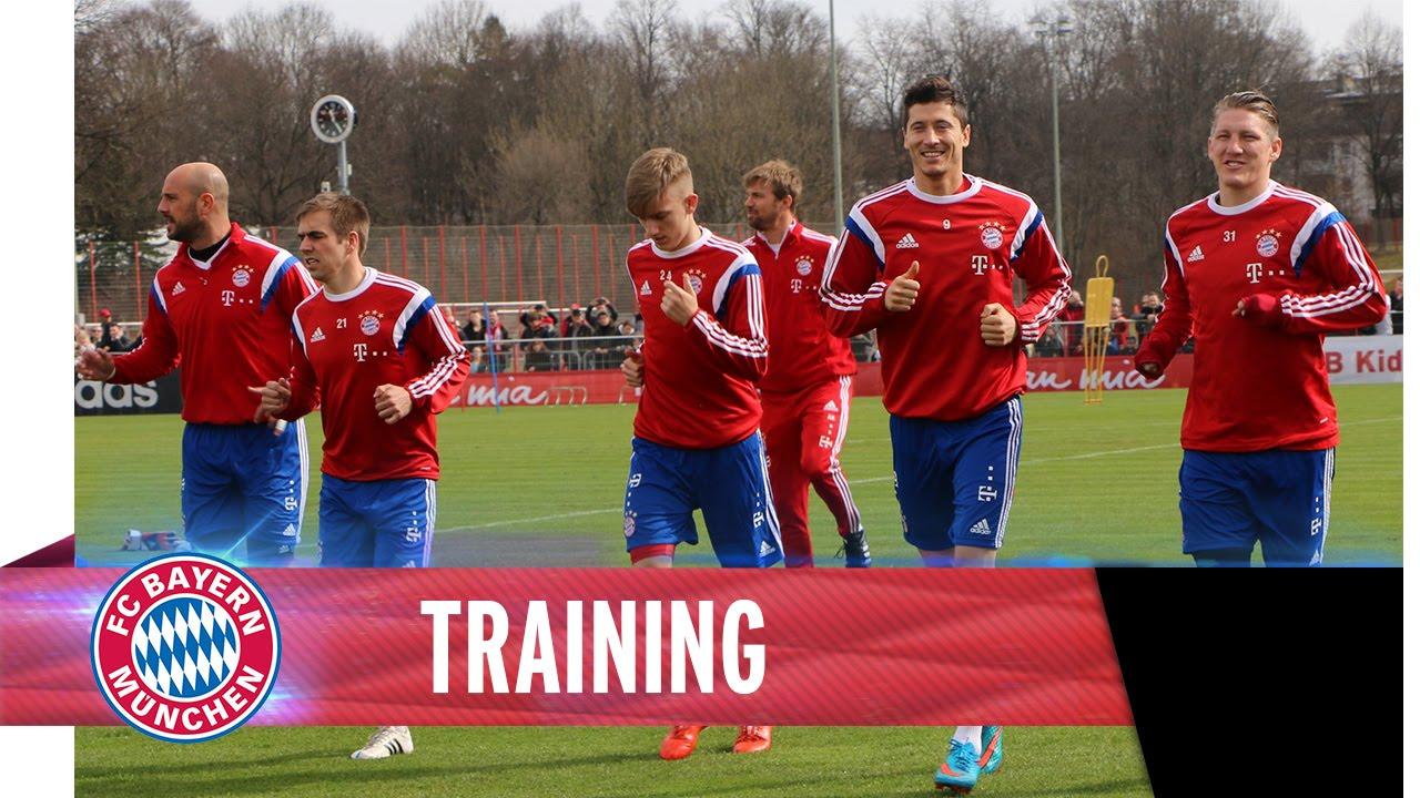 Fc Bayern München Offenes Training
