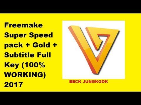 serial key freemake super speed pack