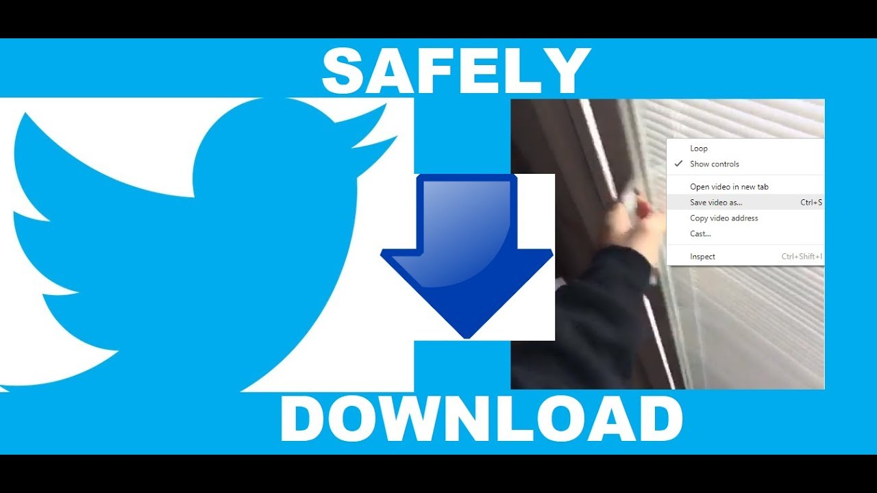 HOW TO SAFELY Download Twitter Videos (Few People Know)