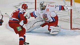 Кубок первого канала Россия Чехия 5-1 16 12 2016 [HD] Лучшие моменты
