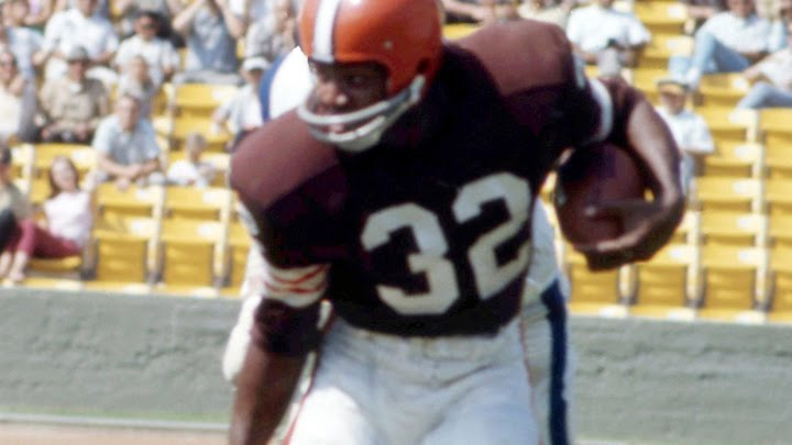 Jim Brown named by ESPN as the greatest player in college football ...