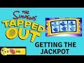 GETTING THE JACKPOT | The Simpsons Tapped Out Golden Scratch-R
