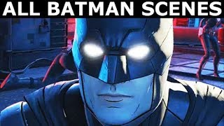 All Batman Scenes - Vigilante Joker Path - BATMAN Season 2 The Enemy Within Episode 5: Same Stitch