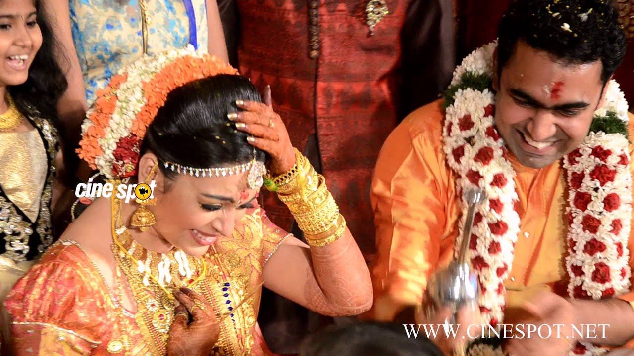 Radhika Malayalam Actress Marriage Wedding Video You