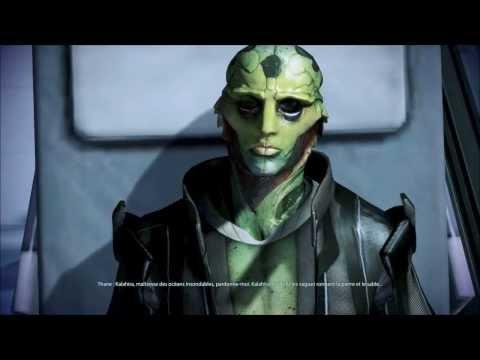 Vidéo Mass Effect 3 - La mort de Thane — rôle de Thane Krios