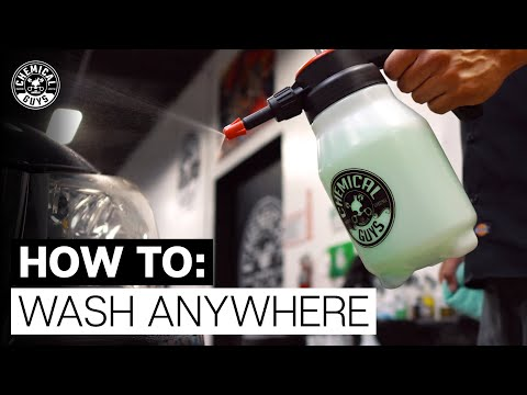 Easiest Way To Wash Your Car Anywhere At Anytime! - Chemical Guys