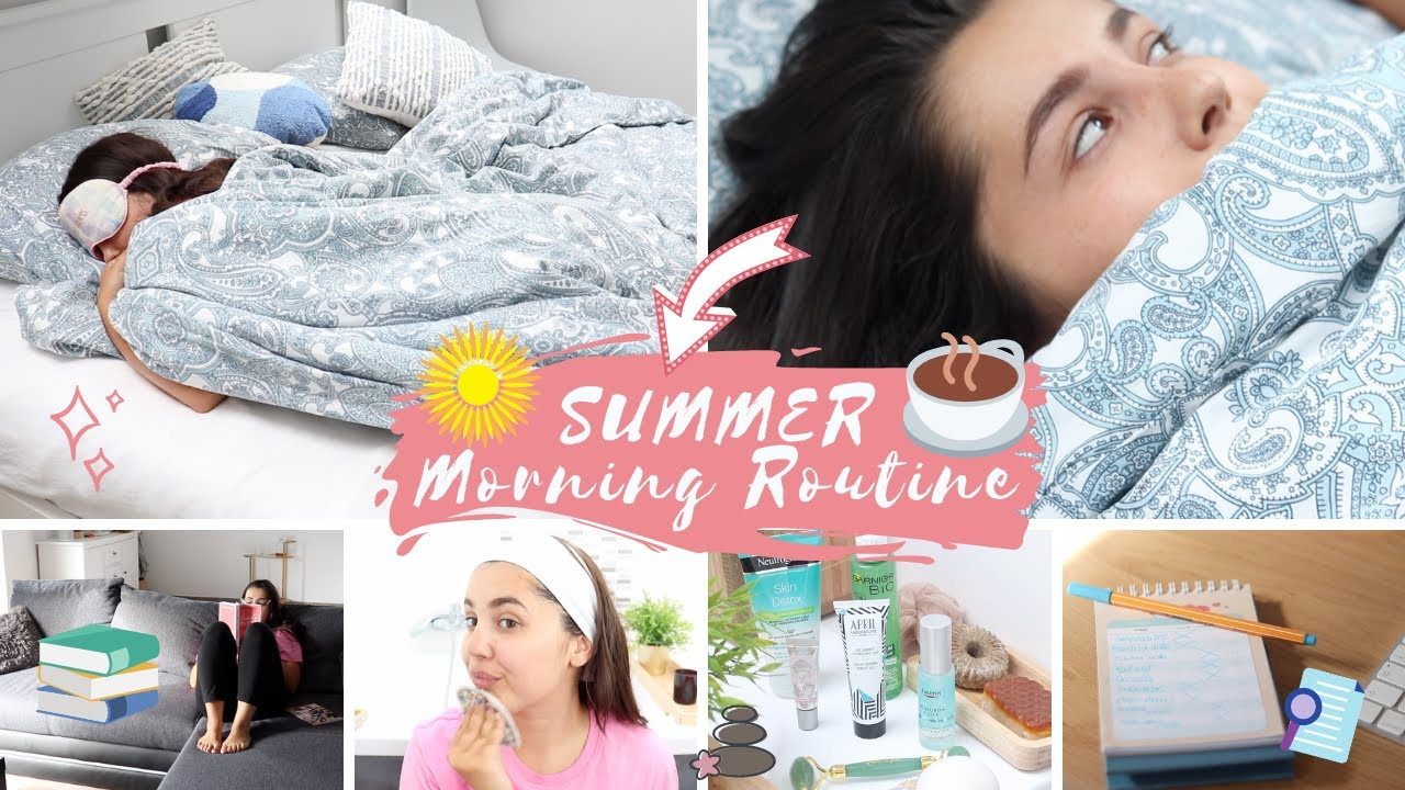 SUMMER MORNING ROUTINE ☀️ Self-Care & Motivation⎜Merry