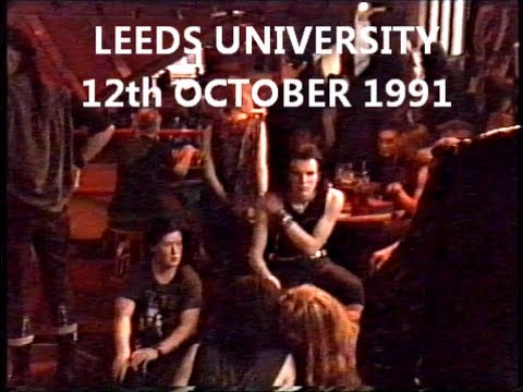 1991 Goth All Dayer Leeds University 80s 90s gothic gig