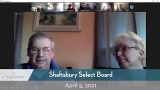 Shaftsbury Select Board Meeting // 04/05/21