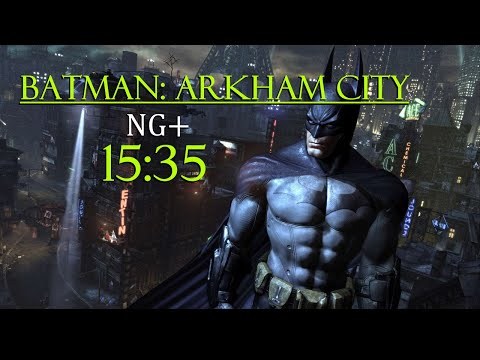 [WR] Batman: Arkham City Speedrun (NG+) - 15:35