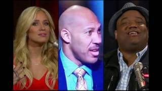the Lavar Ball vs Kristine Leahy & Jason Witlock with Colin Cowherd is getting out of control