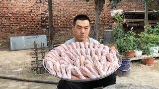 【食味阿远】175块钱买了45个鸭头,阿远做干锅鸭头来吃,堂哥这回吃过瘾了| Shi Wei A Yuan