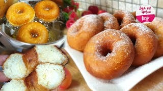 Просят приготовить ЕЩЕ (Более Пышных просто НЕ бывает)! Легкий рецепт пончиков