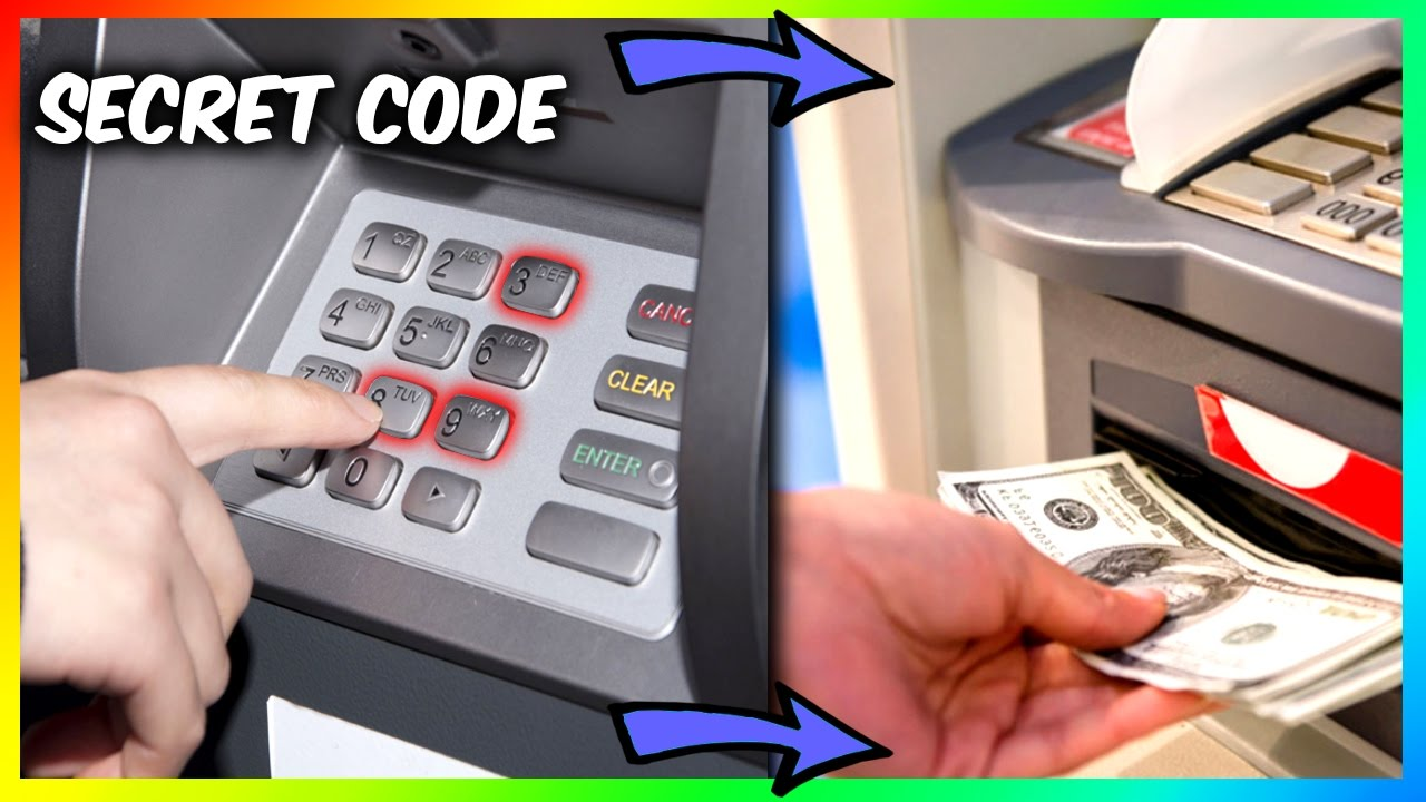 SECRET ATM MACHINE MONEY TRICK (Vending Machine Hacks and More)