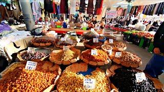 Где продаётся ткань от 10 рублей джинсы от 100 рублей косметика от 40 Большой базар в Кадыкёе