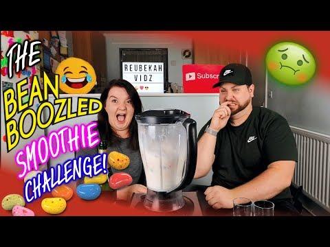 The Bean boozled smoothie challenge *Gag Alert*
