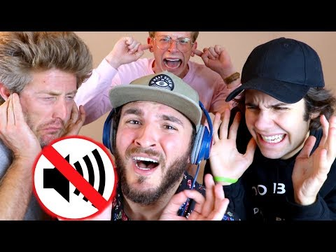 FIRST TIME SINGING w/ NOISE CANCELLING HEADPHONES!!