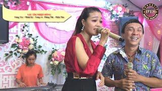 Sầu Tím Thiệp Hồng - Dũng Nhí và Diệu Thu hát  live cực hay cùng organ xinh đẹp Trúc Ngân