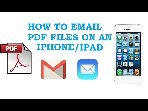 How To Pdf Attachment From Gmail To Ipad
