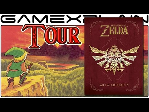 The Legend of Zelda: Arts & Artifacts Book Overview & Tour