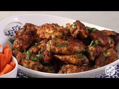 How to Make Awesome Crispy Baked Chicken Wings | Dinner Recipes | Allrecipes.com