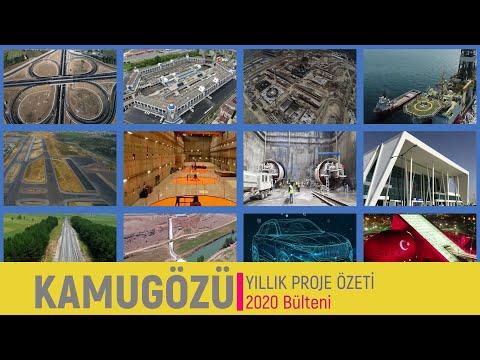 2020 Yılında Tamamlanan Büyük Altyapı Projeleri