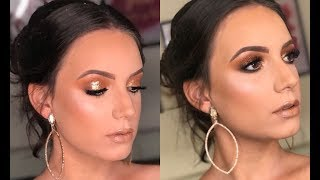 Maquiagem FORMANDA: Esfumado com Glitter