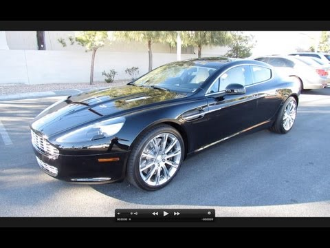 2012/2013 Aston Martin Rapide Start Up, Exhaust, and In Depth Review