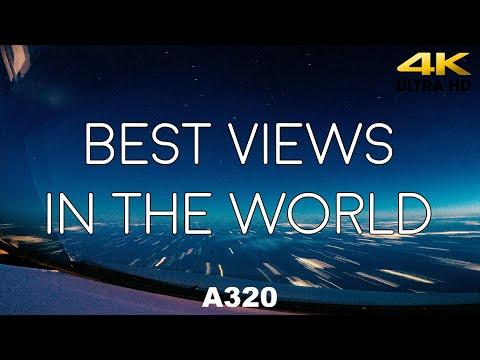 Best Views In The World - Pilot Cockpit View 4K